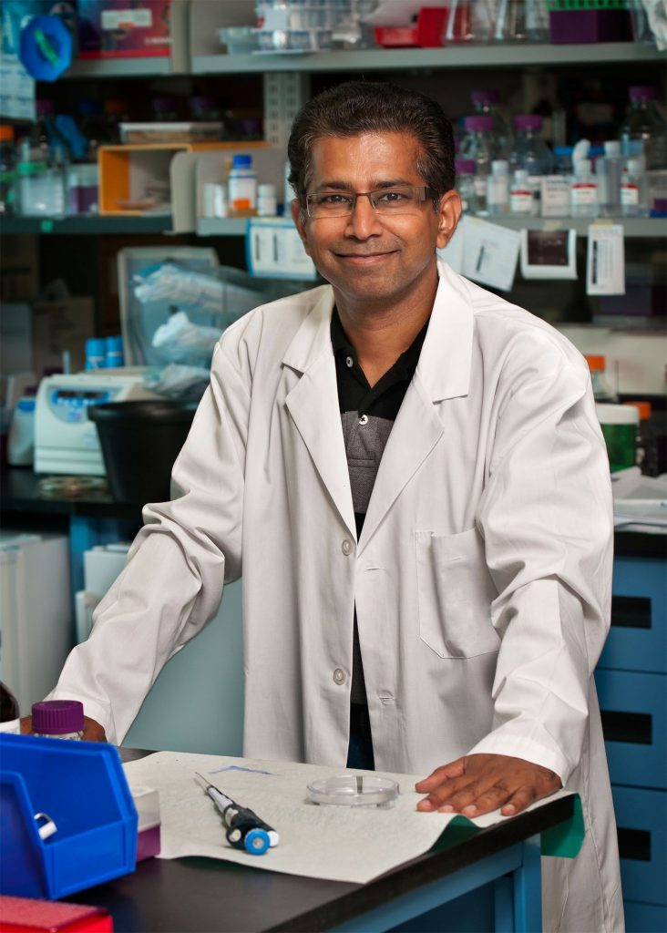 Senthil Muthuswamy (Photo: Anthony Olsen - Visual Services UHN)
