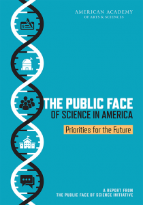 Cover of final Public Face of Science Report